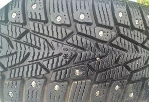 Сколько шипов должно быть на зимнем колесе