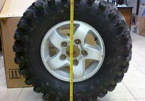 Как пересчитать дюймовый размер колес фото