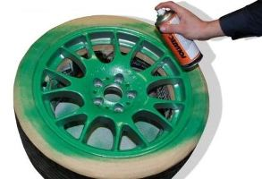 Какой краской красить литые диски, фото