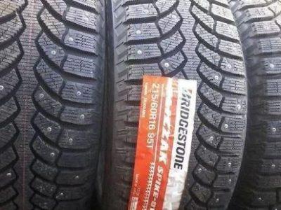 Отзывы о шинах Bridgestone Blizzak Spike-01