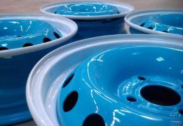 Покраска штампованных дисков своими руками, фото