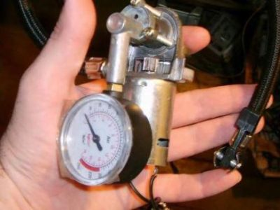 Как починить автомобильный компрессор для подкачки шин