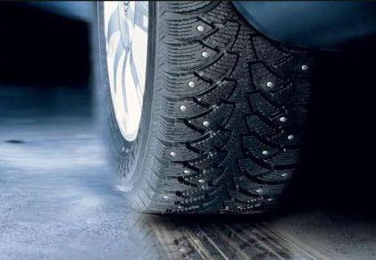 Как обкатать шины с шипами, фото