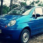 Размер колес на Daewoo Matiz и Nexia