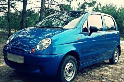 Размер колес на Daewoo Matiz и Nexia, фото