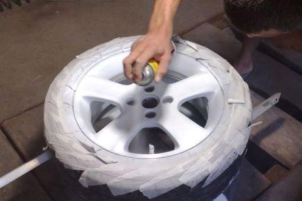 Чем и как покрасить колесные диски самостоятельно