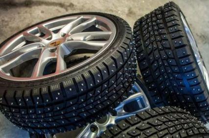Какие зимние шины с шипами лучше, фото