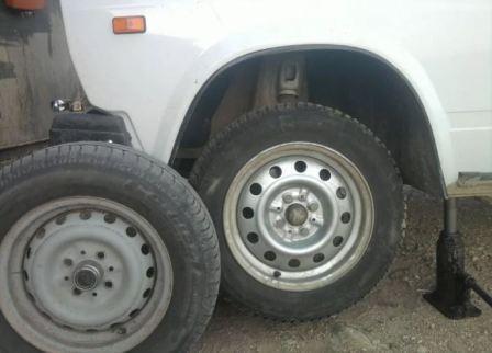 Разболтовка колес на автомобилях ВАЗ, фото