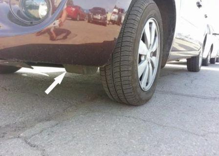 Зачем брызговики перед колесами, фото