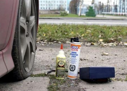Герметик для шин: какой лучше