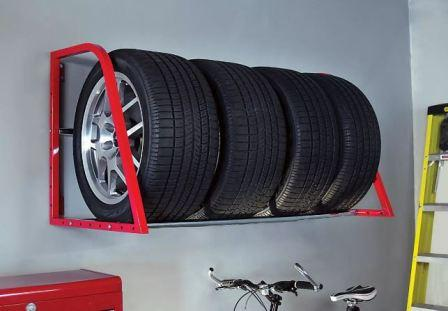 Как правильно хранить шины в межсезонье