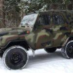 Как выбрать зимние шины на УАЗ