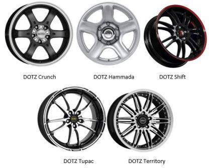 Литые диски Dotz