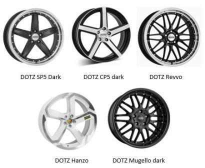 Легковые диски Dotz ALCAR