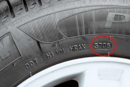 Дата выпуска шины