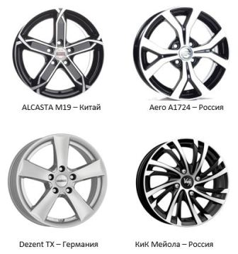 Какие диски ставить на Форд Фокус 1