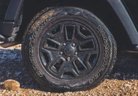 Изношенная шина