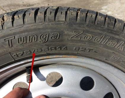 Размер шин на ВАЗ 2115