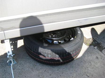 Как заменить колесо на 2107