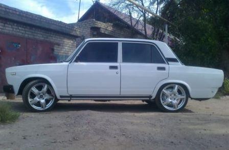 Колеса на ВАЗ 2107