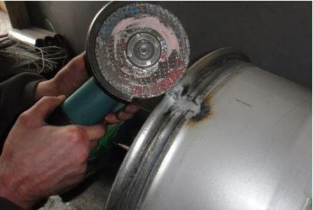 Восстановление литых дисков