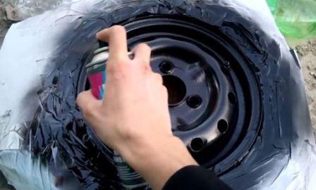 Покраска диска своими руками