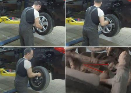 Шпилька колеса Хендай Солярис