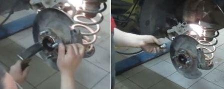 Шпилька ступицы колеса Хендай Солярис