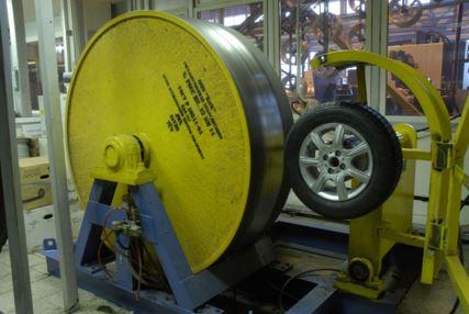 Тест колесных дисков