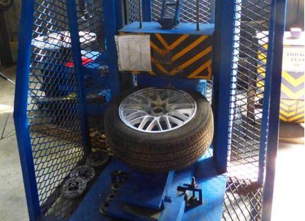 Испытания дисков авто