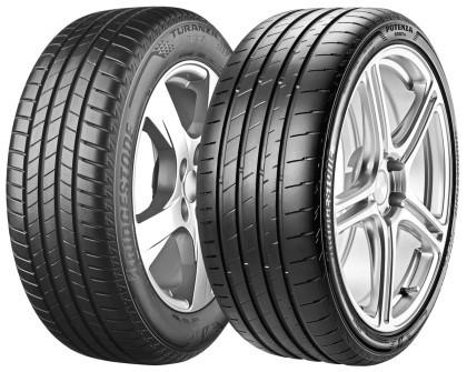 Две новинки от Bridgestone – Potenza и Turanza