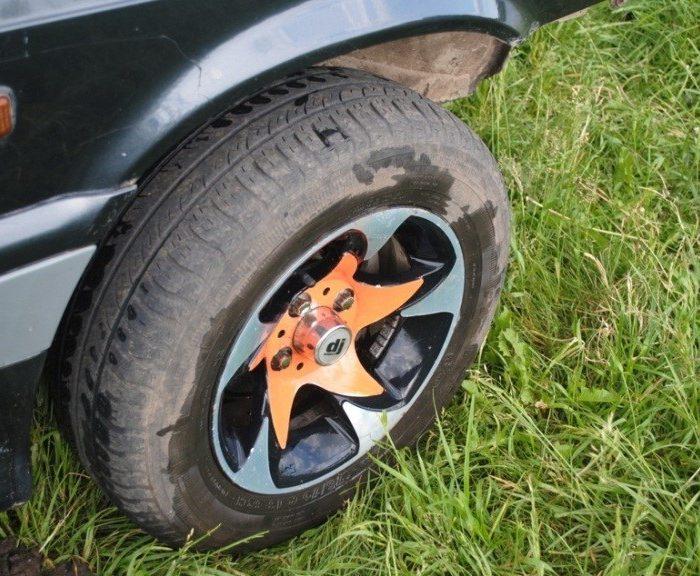 Арбузный дизайн колёс