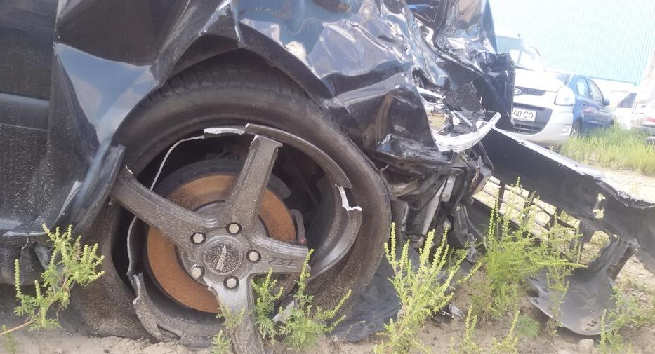 Диск Йокатта после аварии