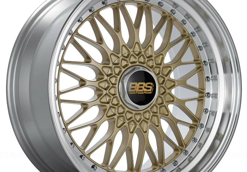 BBS RS серебро и бронза