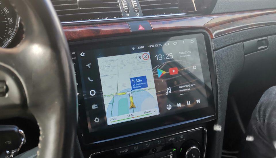 Штатные магнитолы Шкода — комфорт и безопасность вождения