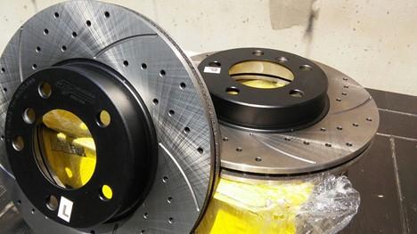Тормозные диски для автомобиля Тойота Лэнд Крузер 200